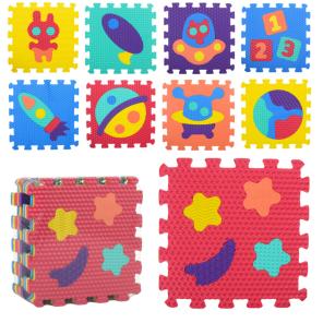 Детский развивающий коврик-пазл Мозаика