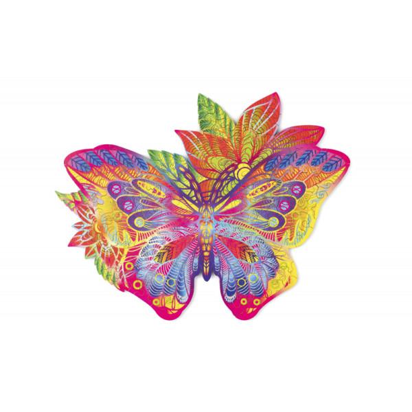 Драгоценная Бабочка (170 детали) - фигурный 3D пазл